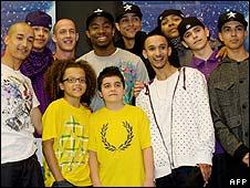 Dance troupe Diversity