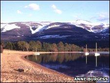 Loch Morlich [Pic: Anne Burgess]