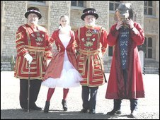 Designs for modern Beefeater uniform