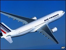 An Air France Airbus A330-200 airliner (archive image)