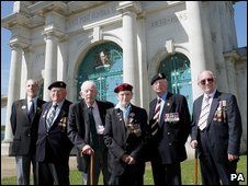 Normandy veterans