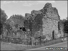 Remains of Radcliffe Tower (c) Bury Council