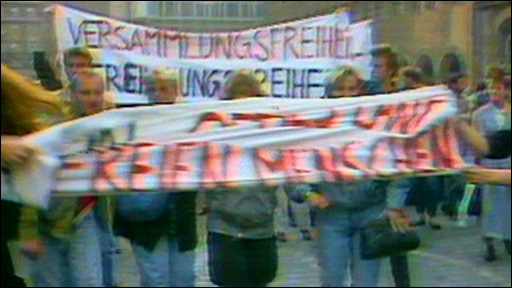 East German protests