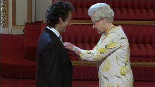 Michael Sheen is awarded an OBE
