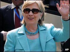 US Secretary of State Hillary Clinton in Honduras (2 June 2009)