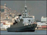 فرقاطة برازيلية في طريقها للبحث عن حطام السفينة الفرنسية المنكوبة
