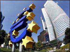 ECB headquaters in Frankfurt