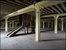 The Granary interior