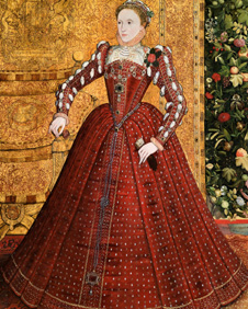 Portrait of Queen Elizabeth I courtesy of Sotheby's