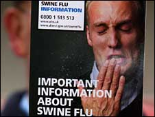 Swine flu leaflet