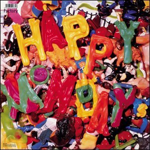 Cover of Happy Mondays 12 inch Judge Fudge. Artwork reproduced with the permission of Central Station Design.