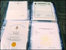 Fake certificates found at Univisas office