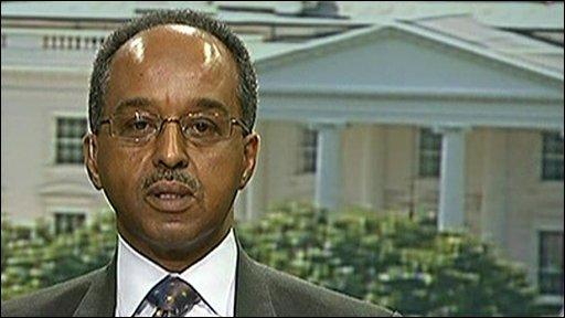 Somalian Foreign Minister, Mohamed A. Omaar.