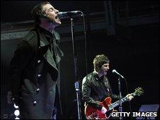 Oasis on stage