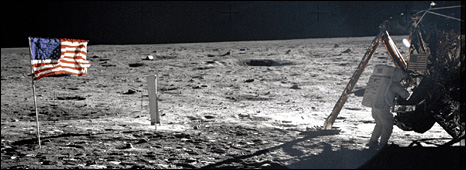 Neil Armstrong during Apollo 11 mission (Nasa)
