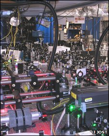 Laser lab picture (J Jost)
