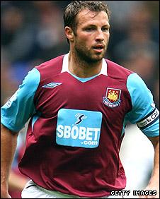 West Ham United defender Lucas Neill