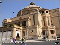 جامعة القاهرة استكلمت الاستعدادات لاستقبال أوباما