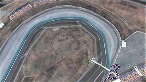 Zoom into the Turkey Grand Prix track