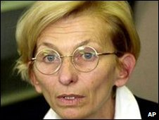 File photo of Italy's Radical party leader Emma Bonino