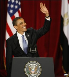 President Obama in Cairo