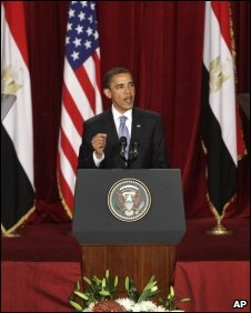 President Obama in Cairo