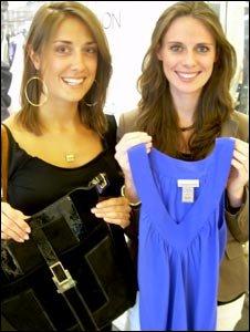 Lucy Axford (left) and Tara O'Neill