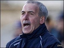 Dundee manager Jocky Scott
