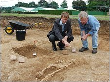 The Duke of Northumberland with Harvey Sheldon