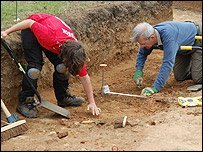 Syon Park archaeology dig