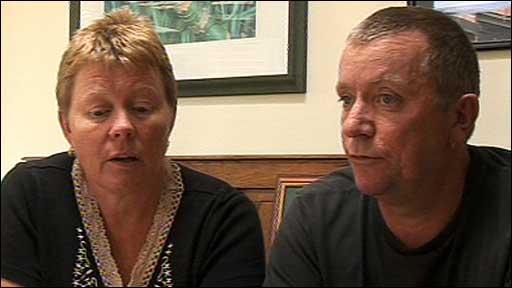 Parents of Rifleman Cyrus Thatcher