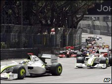Formual 1 Grand Prix in Monaco