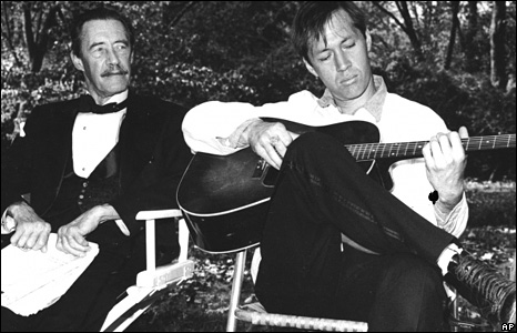 David and John Carradine