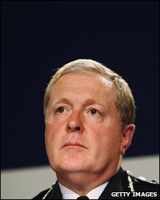Former Metropolitan Police Comissioner Sir Ian Blair