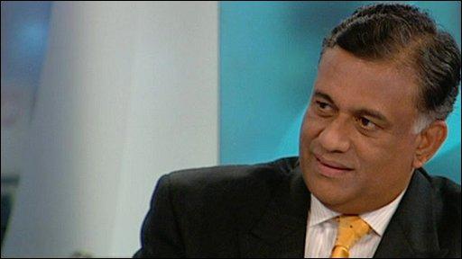 Sri Lanka's Foreign Minister Rohitha Bogollagama