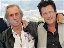David Carradine and Michael Madsen