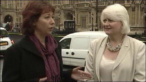 Nancy Platts and Siobhan McDonagh