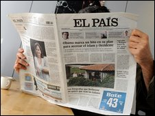 El Pais, Friday 5 June 2009