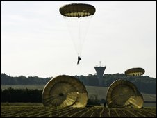 British parachutists
