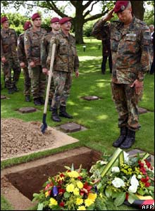 German soldiers mark D-Day anniversary