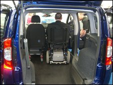 Photo of the Switch accessible vehicle