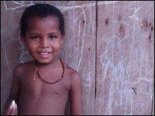 A boy from Choco