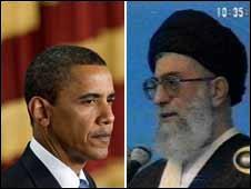 Obama/ Khomenei