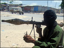 Al-Shabab fighter