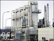 Baumgarten gas terminal (2006)