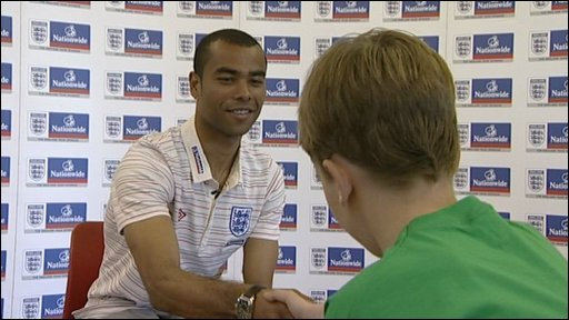 Ashley Cole meets Seb