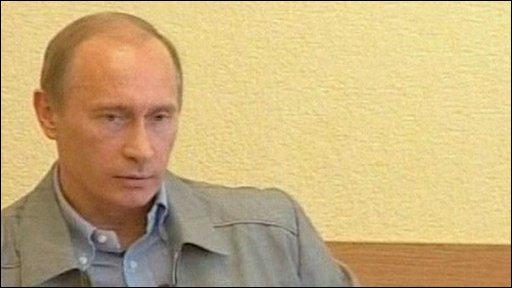 Russian Prime Minister Vladamir Putin