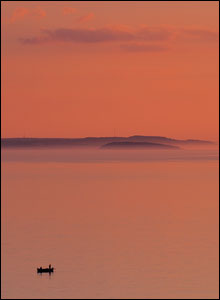 Craig Eastman from The Wirral took this sunset view towards Anglesey and Puffin Island on a visit to the Great Orme