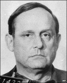 1972 police mugshot of Bernard L. Barker