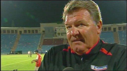 Wales manager John Toshack